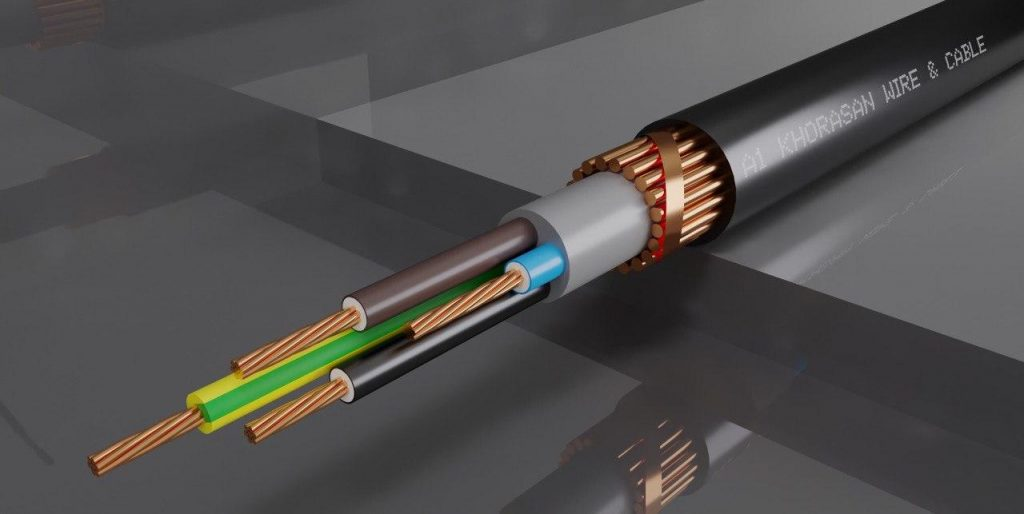 InFlexible PVC Insulated & Sheathed Power Shielded Cables_NYCY